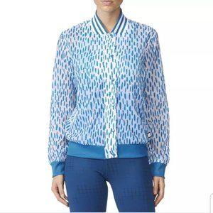 Adidas Retro White Leopard Jacket
